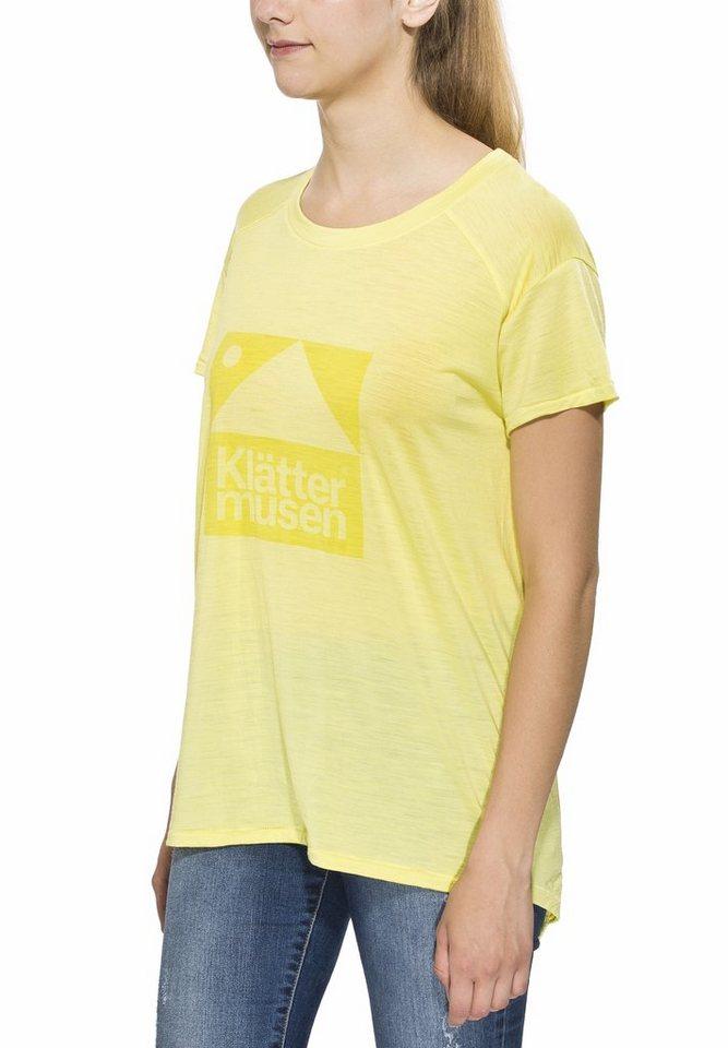 Klättermusen T-Shirt »Eir Tee Women« in grün