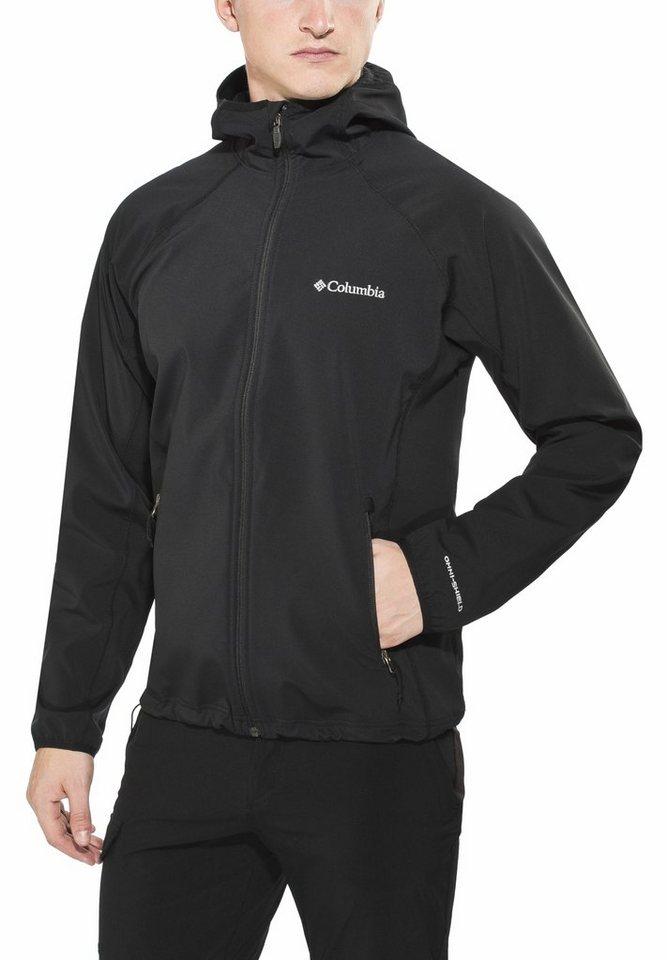 Columbia Softshelljacke »Whisper Creek Softshell Jacket Men« in schwarz