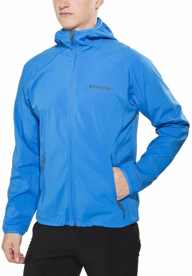 Columbia Softshelljacke »Whisper Creek Softshell Jacket Men« in blau