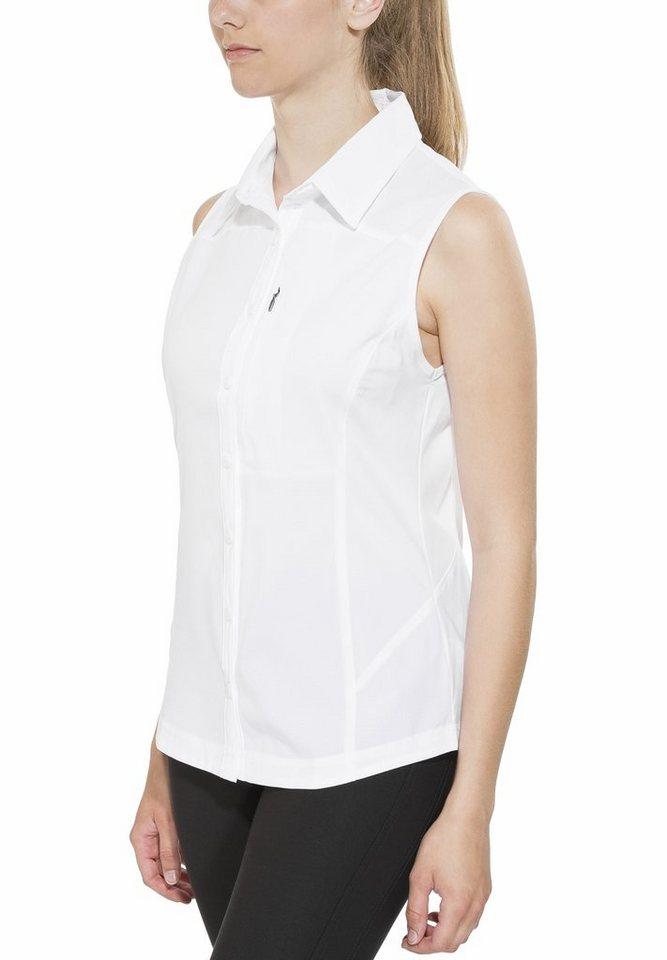 Columbia Bluse »Silver Ridge II Sleeveless Shirt Women« in weiß