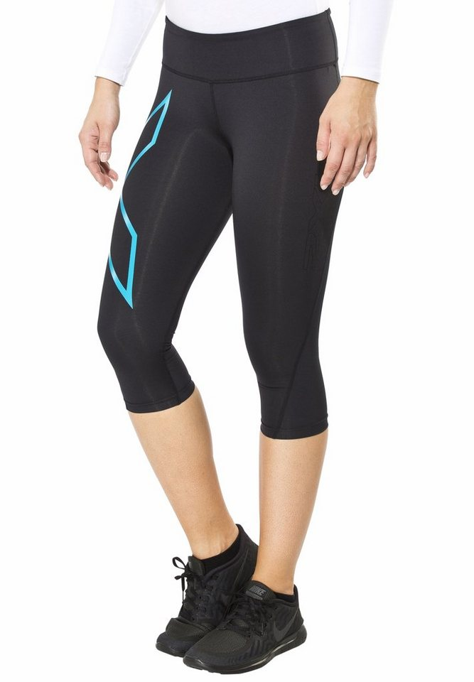2XU Jogginghose »Mid-Rise Compression 3/4 Tights Women« in schwarz
