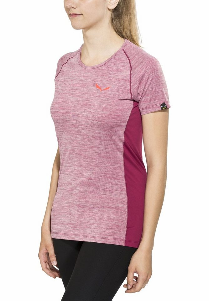 Salewa T-Shirt »Pedroc Dry SS Tee Women« in pink