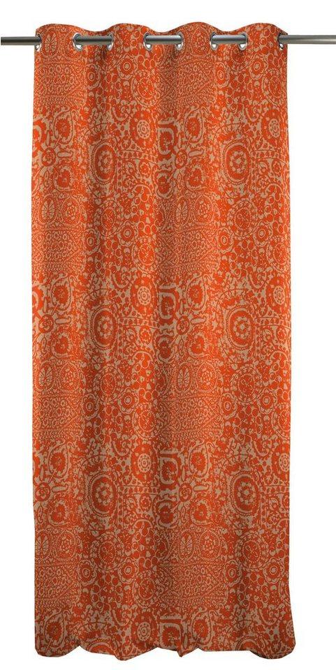 Vorhang, Apelt, »Granada« (1 Stück) in orange