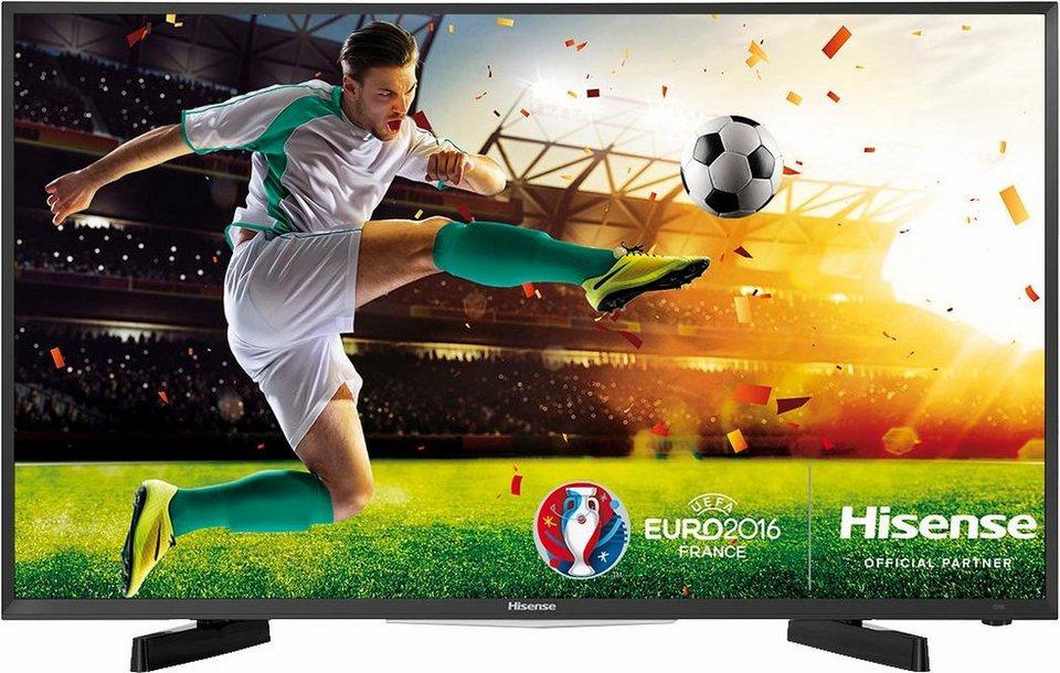 Hisense H49MEC2650, LED Fernseher, 123 cm (49 Zoll), 1080p (Full HD), Smart-TV in schwarz