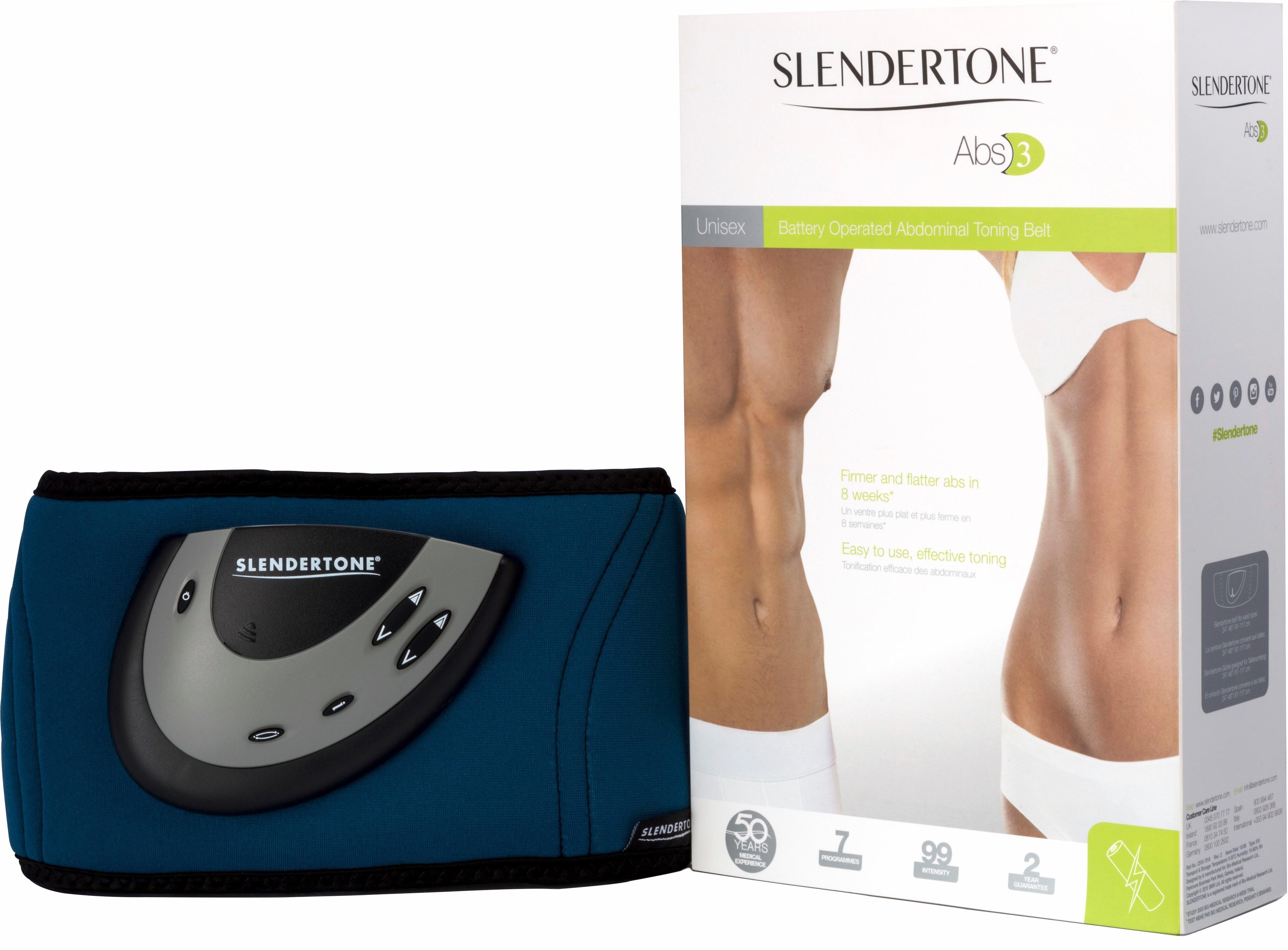 Slendertone Bauchtrainer mit Elektro-Muskel-Stimulation ABS 3 Unisex