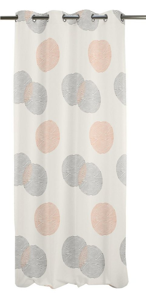 Vorhang, Apelt, »Cocon« (1 Stück) in weiß/orange