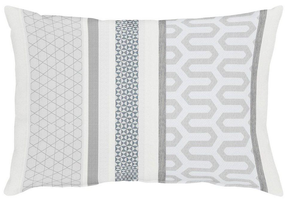 Kissen, Apelt, »Miron« (1 Stück) in grau/weiß