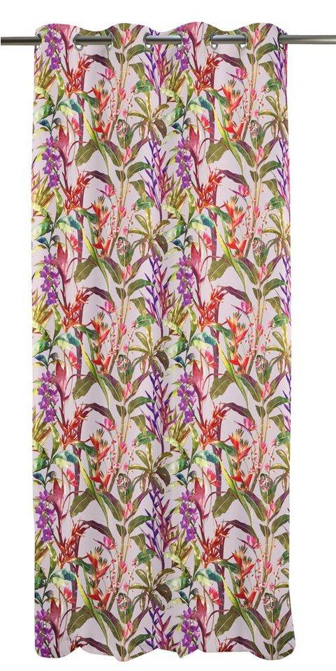 Vorhang, Apelt, »Exotic« (1 Stück) in rose