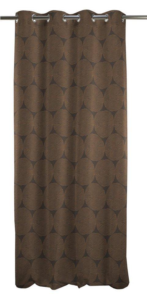 Vorhang, Apelt, »Circle« (1 Stück) in braun