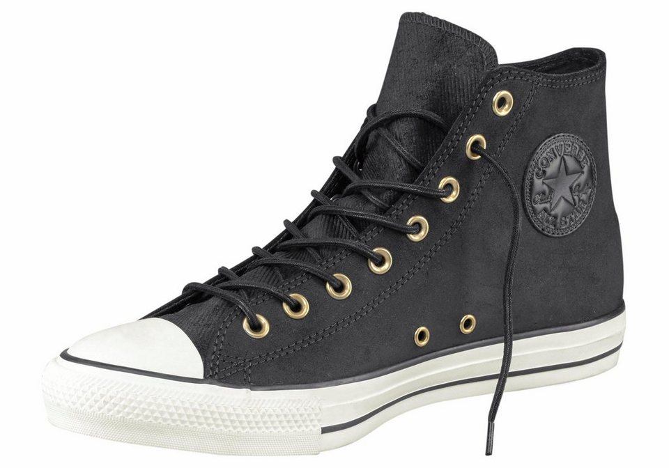 Converse »Chuck Taylor All Star Leather« Sneaker in schwarz
