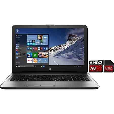 HP 15-ba025ng Notebook, AMD A8, 39,6 cm (15,6 Zoll), 128 GB Speicher, 8192 MB DDR3L-SDRAM