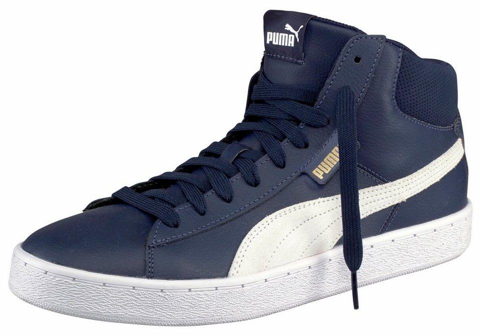 PUMA »PUMA 1948 Mid L« Sneaker in dunkelblau-weiß