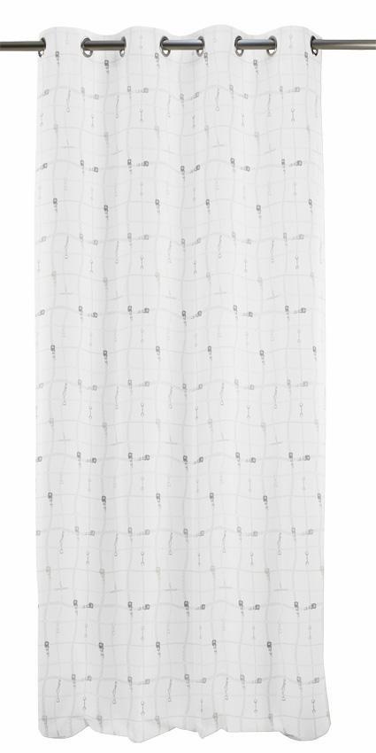 Vorhang, Apelt, »Cambridge« (1 Stück) in weiß
