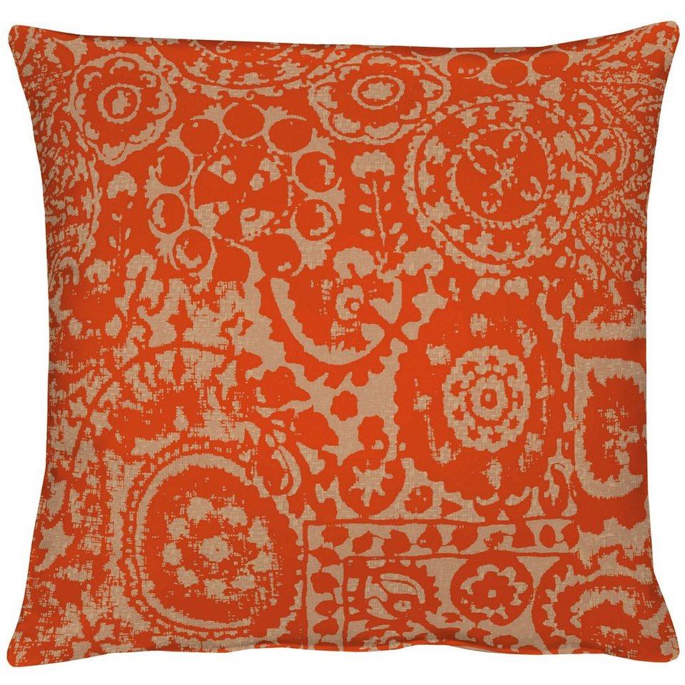 Kissen, Apelt, »Granada« (1 Stück) in orange