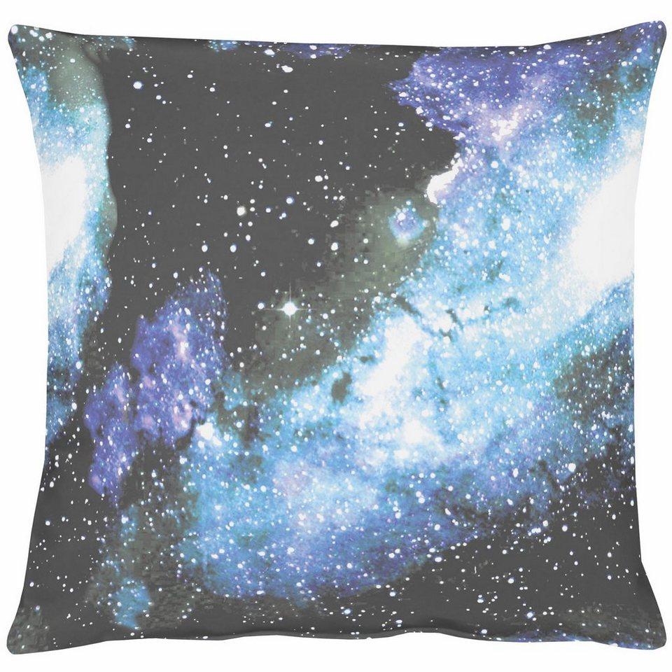 Kissen, Apelt, »Galaxy« (1 Stück) in blau