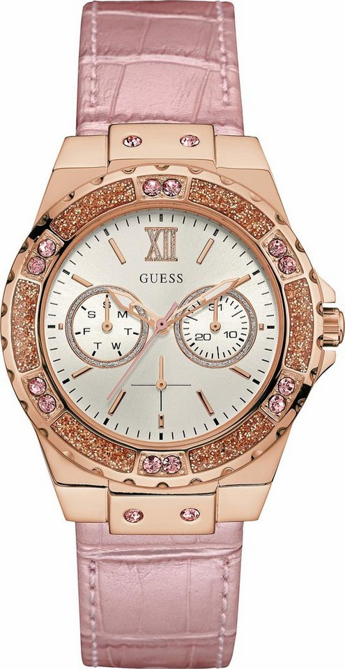 Guess Multifunktionsuhr »W0775L3« in rosa