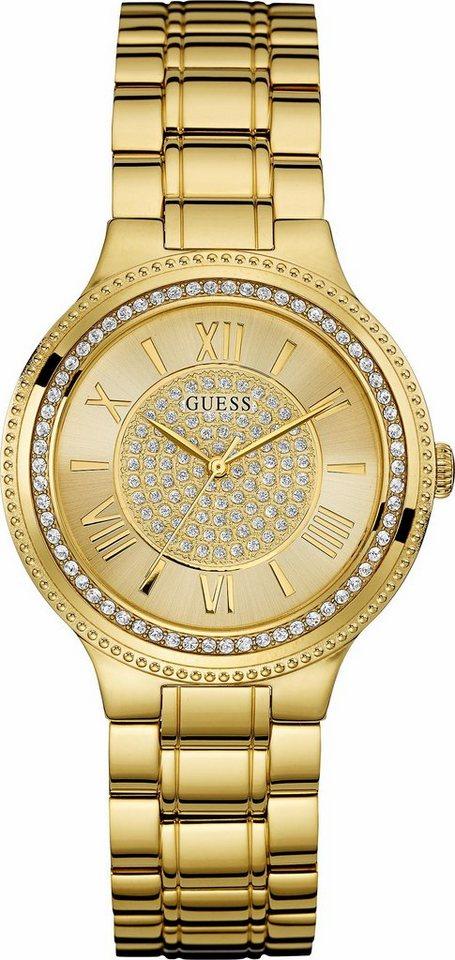 Guess Quarzuhr »W0637L2« in goldfarben