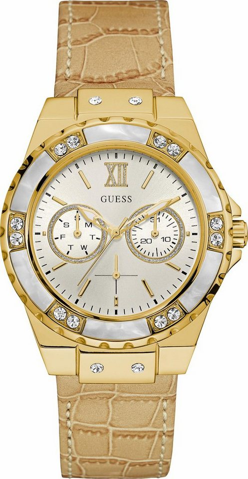 Guess Multifunktionsuhr »W0775L2« in sand