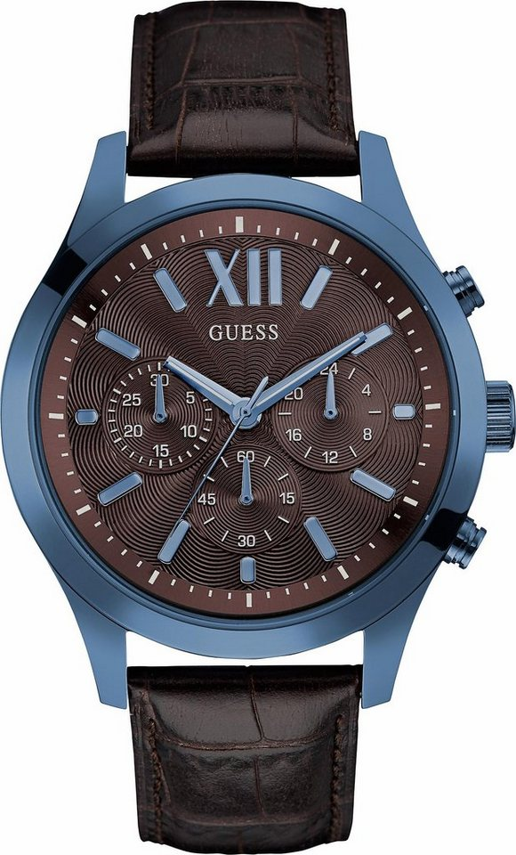 Guess Chronograph »W0789G2« in dunkelbraun
