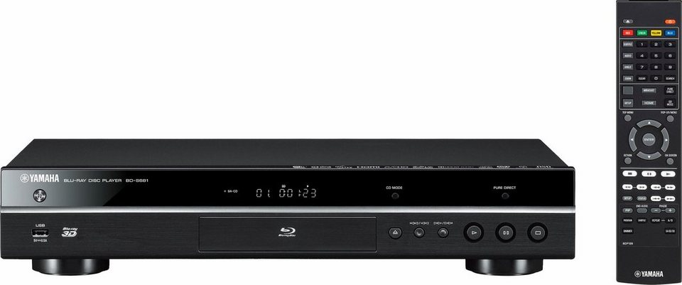 yamaha bd s681 3d blu ray player 3d f hig 4k ultra hd. Black Bedroom Furniture Sets. Home Design Ideas