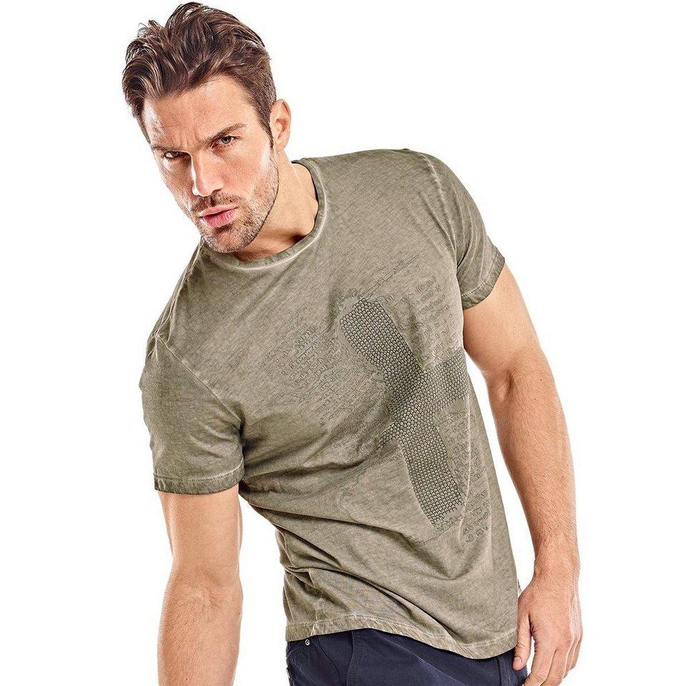 emilio adani T-Shirt in Silbergrau