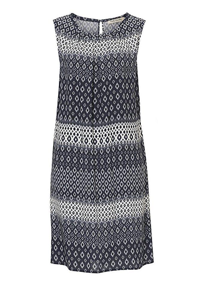 Betty Barclay Kleid in Dunkelblau/Weiß - Bl