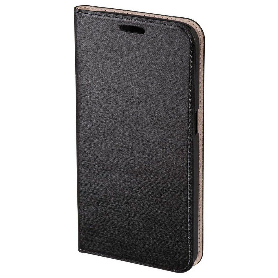 Hama Booklet Slim für Samsung Galaxy S7, Schwarz in Schwarz