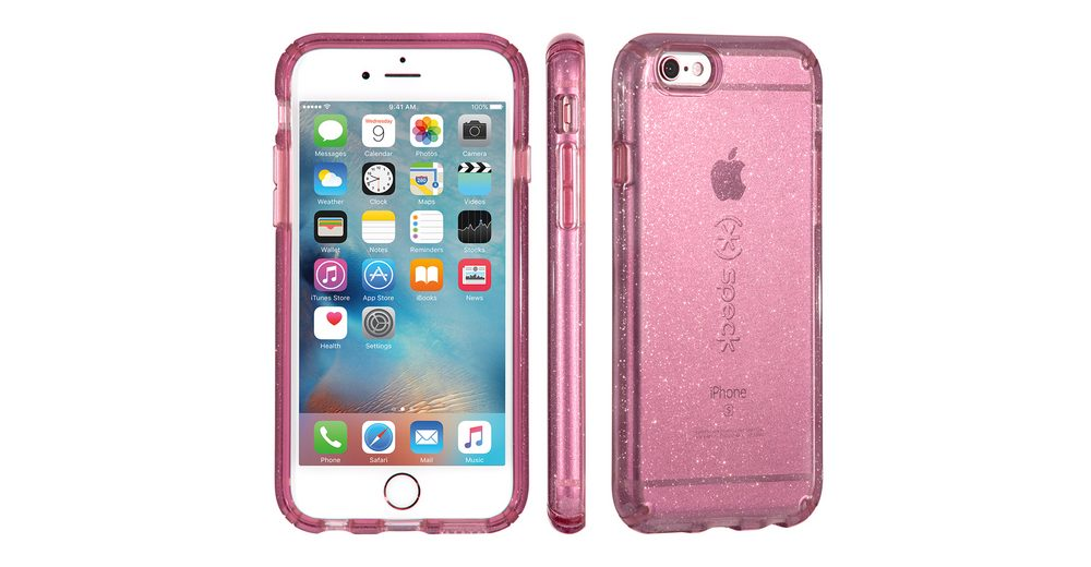 "Speck HardCase »CandyShell iPhone (6/6S) 4.7"" CLEAR BEAMING ORCHID«"