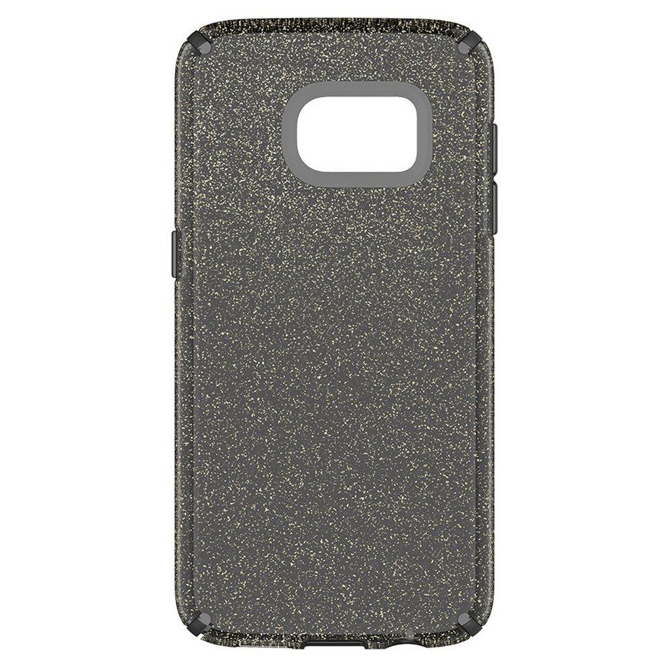 Speck HardCase »CandyShell Samsung Galaxy S7 CLEAR ONYX GOLD GLITT« in transparent