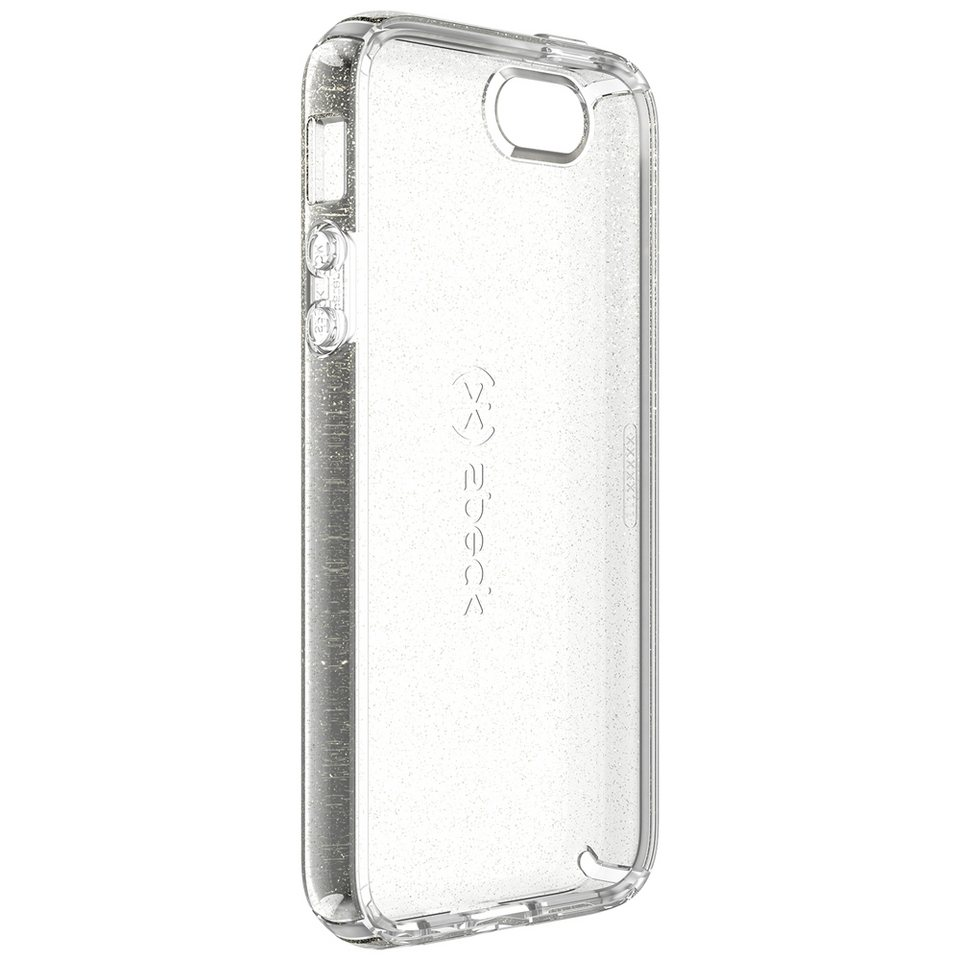 Speck HardCase »CandyShell iPhone (5/5S/5SE) CLEAR GOLD GLITTER« in transparent