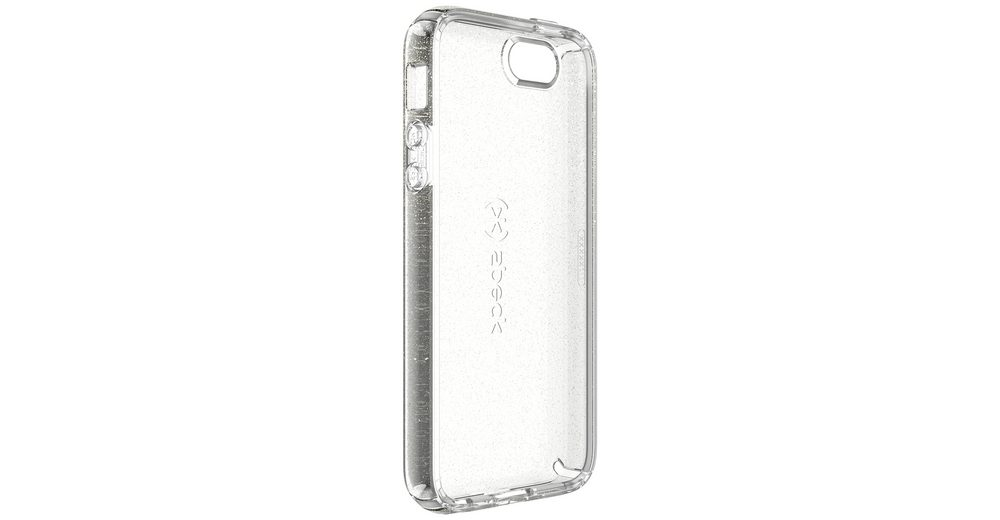 Speck HardCase »CandyShell iPhone (5/5S/5SE) CLEAR GOLD GLITTER«