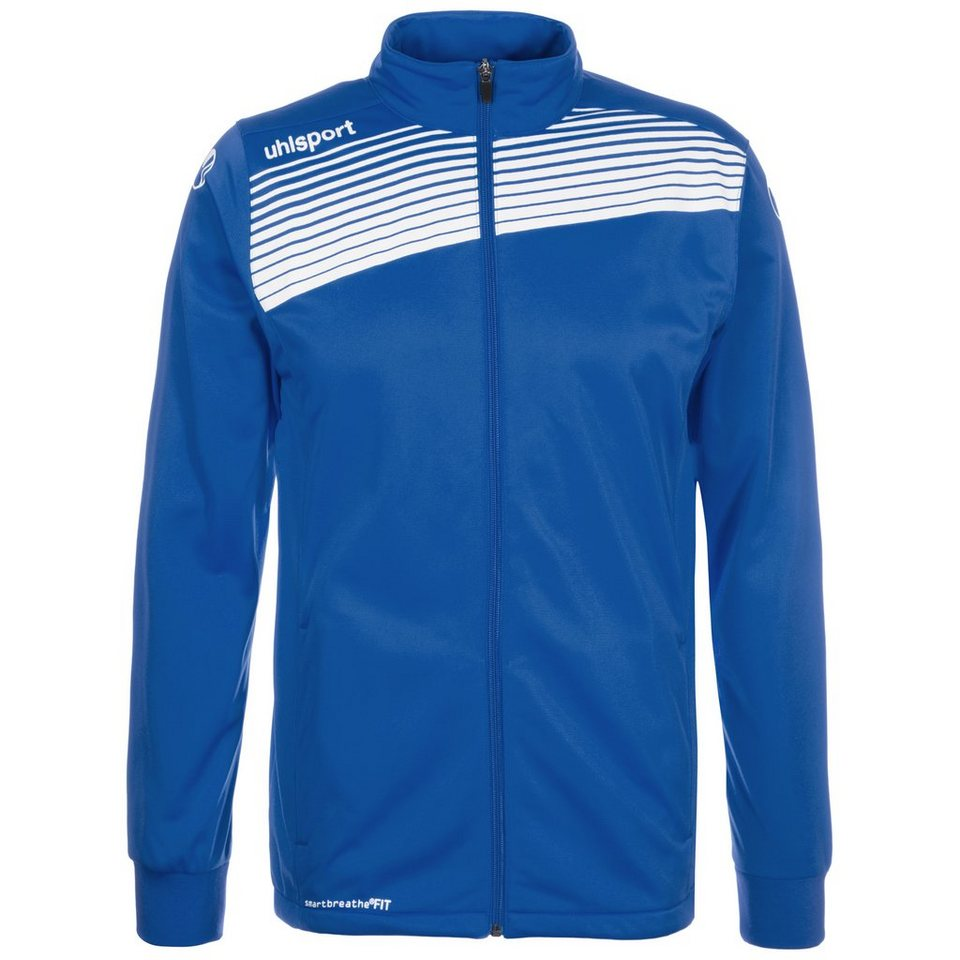 UHLSPORT Liga 2.0 Classic Trainingsjacke Herren in azurblau / weiß