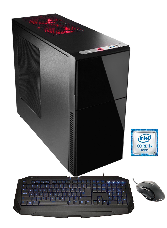 Hyrican Gaming PC Intel® i7-6850K, 32GB, SSD + HDD, GeForce® GTX 1080 »Hyrican Gaming Center 5208«