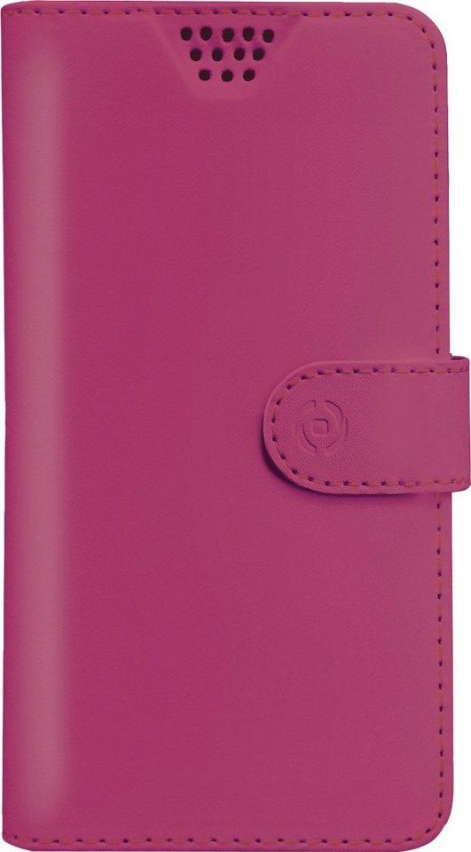 Celly Universelle Handytasche für Geräte von 5,0 - 5,7 Zoll »Wally Unica XXL« in pink/rosa