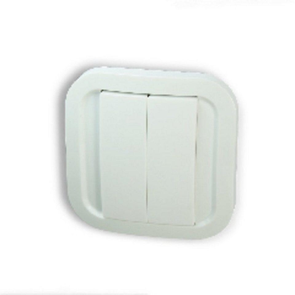 Z-Wave Smart Home Zubehör »Wandschalter cozy - Z-Wave Plus« in Weiß