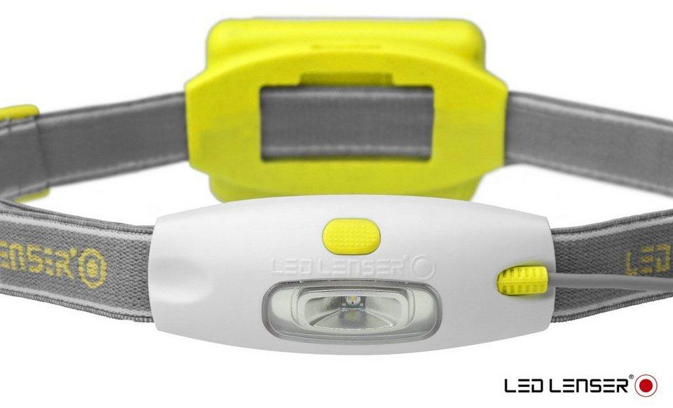 Led Lenser Kopflampe »NEO« in Gelb-Weiß