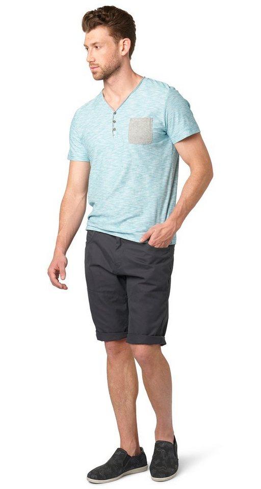 TOM TAILOR Shorts »sommerliche Chino-Bermuda« in tarmac grey