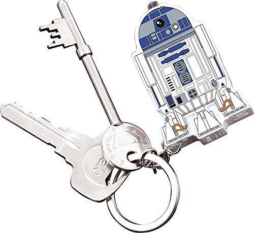 Paladone Fanartikel »Star Wars R2-D2 Schlüsselanhänger mit Taschenlampe«