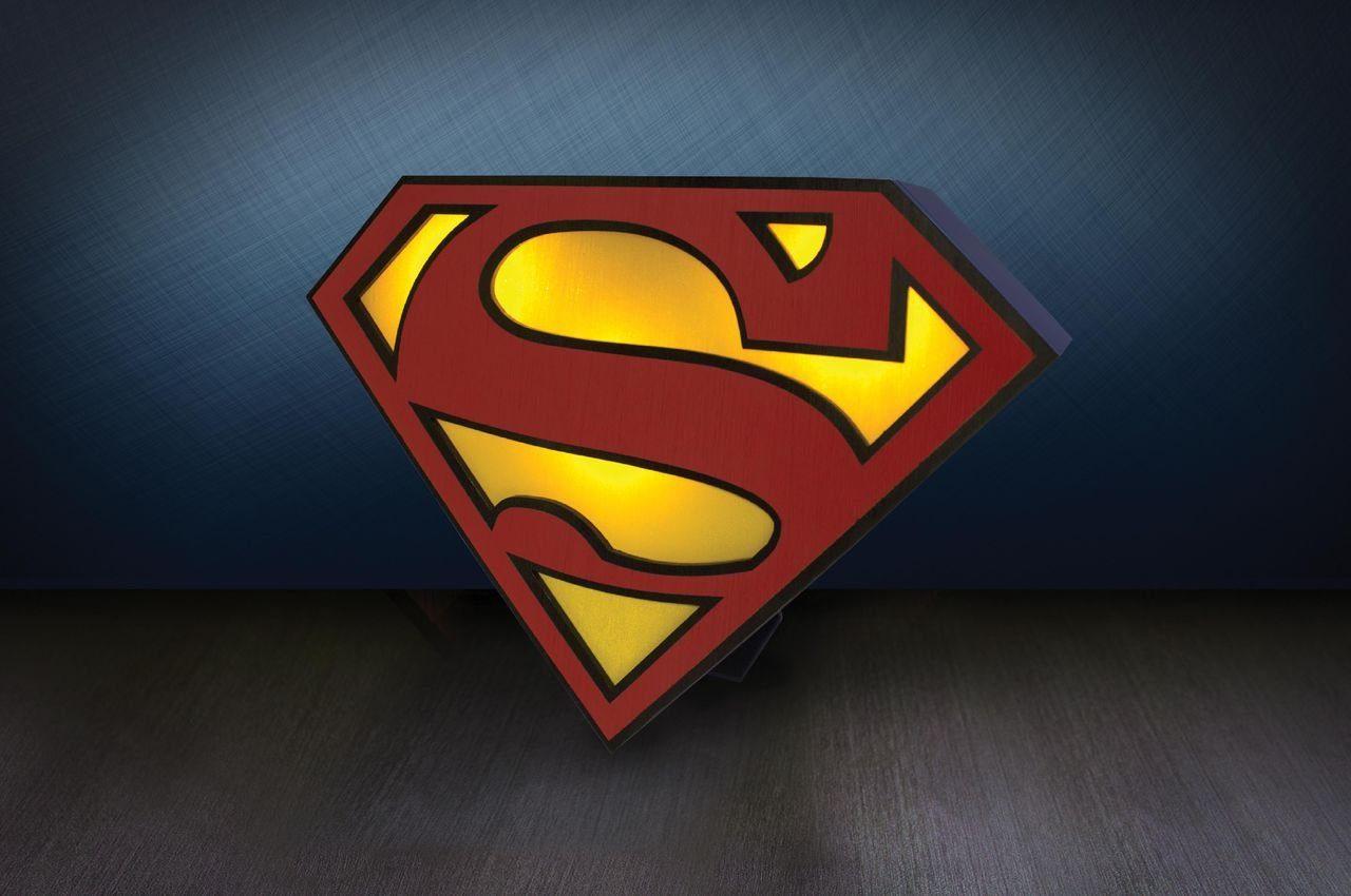 Paladone Fanartikel »Superman Logo Licht ca.25cm«