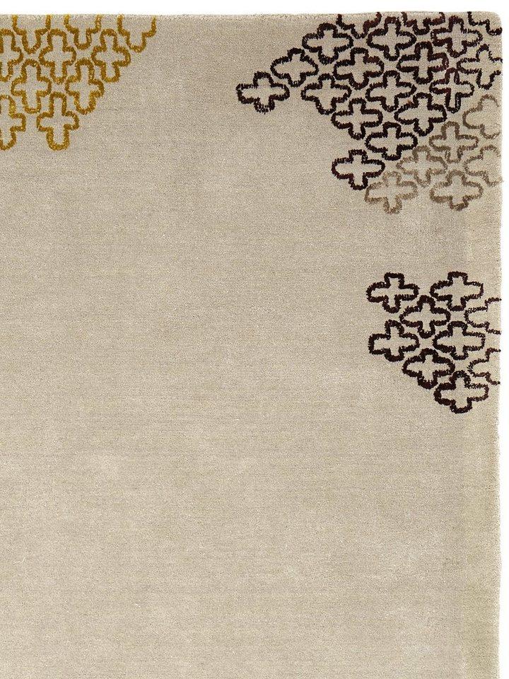 heine home Hochflor-Teppich in grau