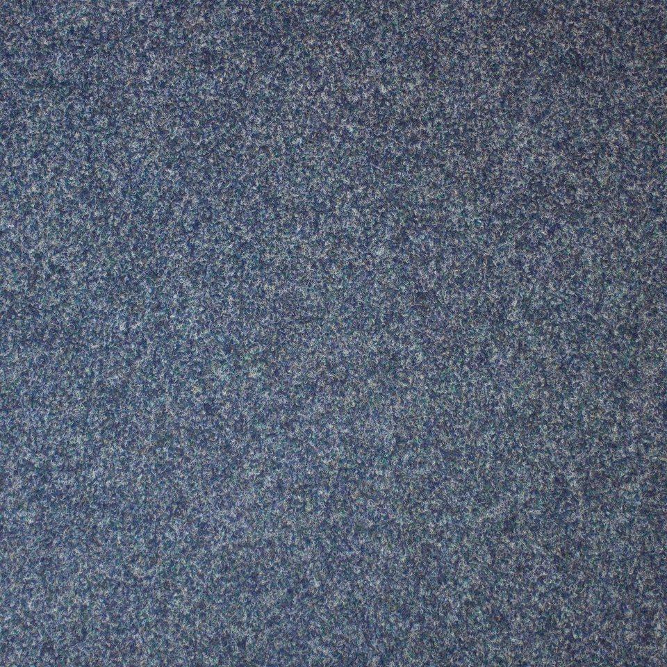 Teppichfliesen »Maine«, 4er Set in blau