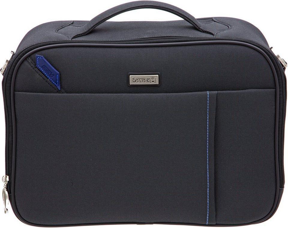 Stratic Bordgepäcktasche mit Schultergurt, »Slot Flugbegleiter« in schwarz