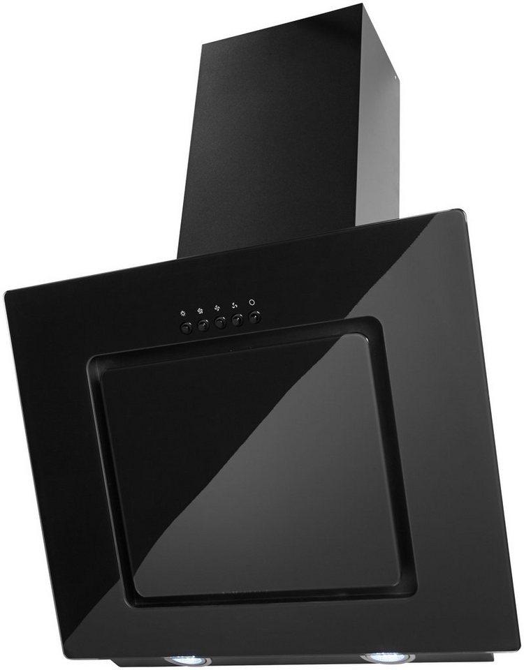glasschirm dunstabzugshaube in 60 und 90 cm kaufen otto. Black Bedroom Furniture Sets. Home Design Ideas