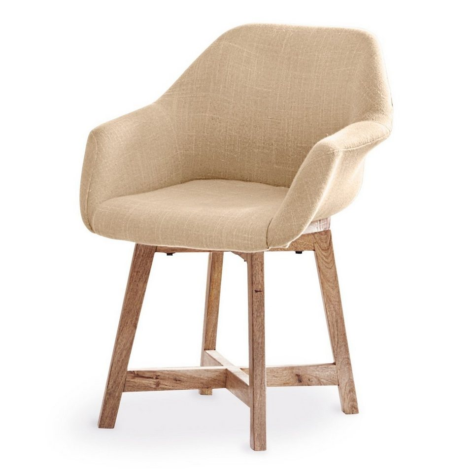 Loberon Stuhl »Melwood« in leinen