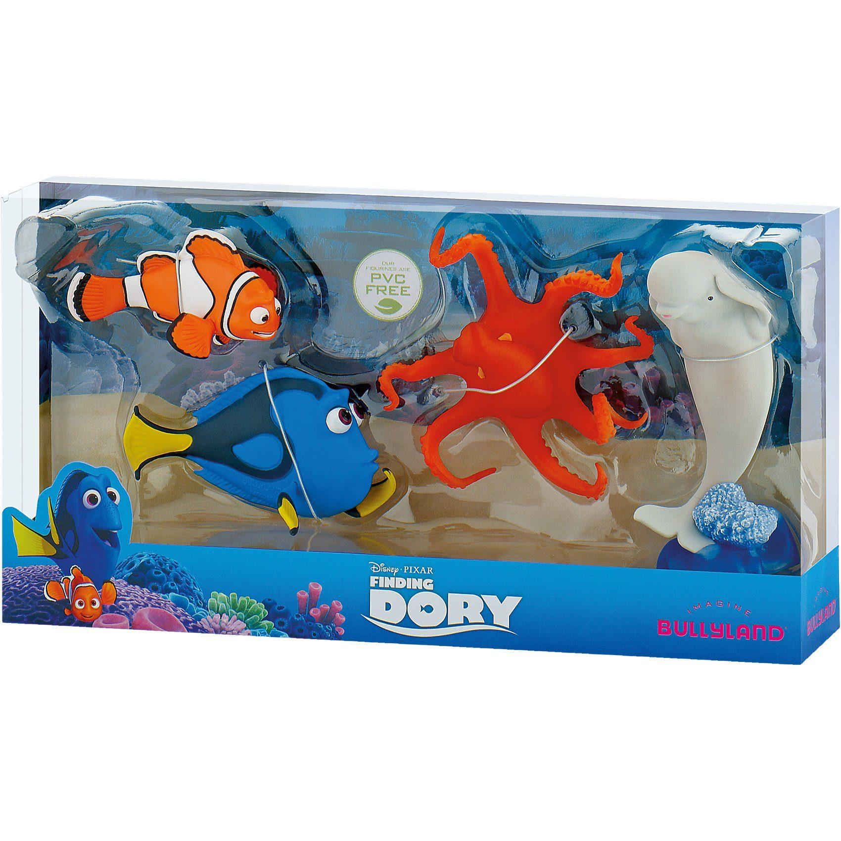 BULLYLAND Comicwelt - Disney Findet Dorie - Geschenk-Box 4 Figuren