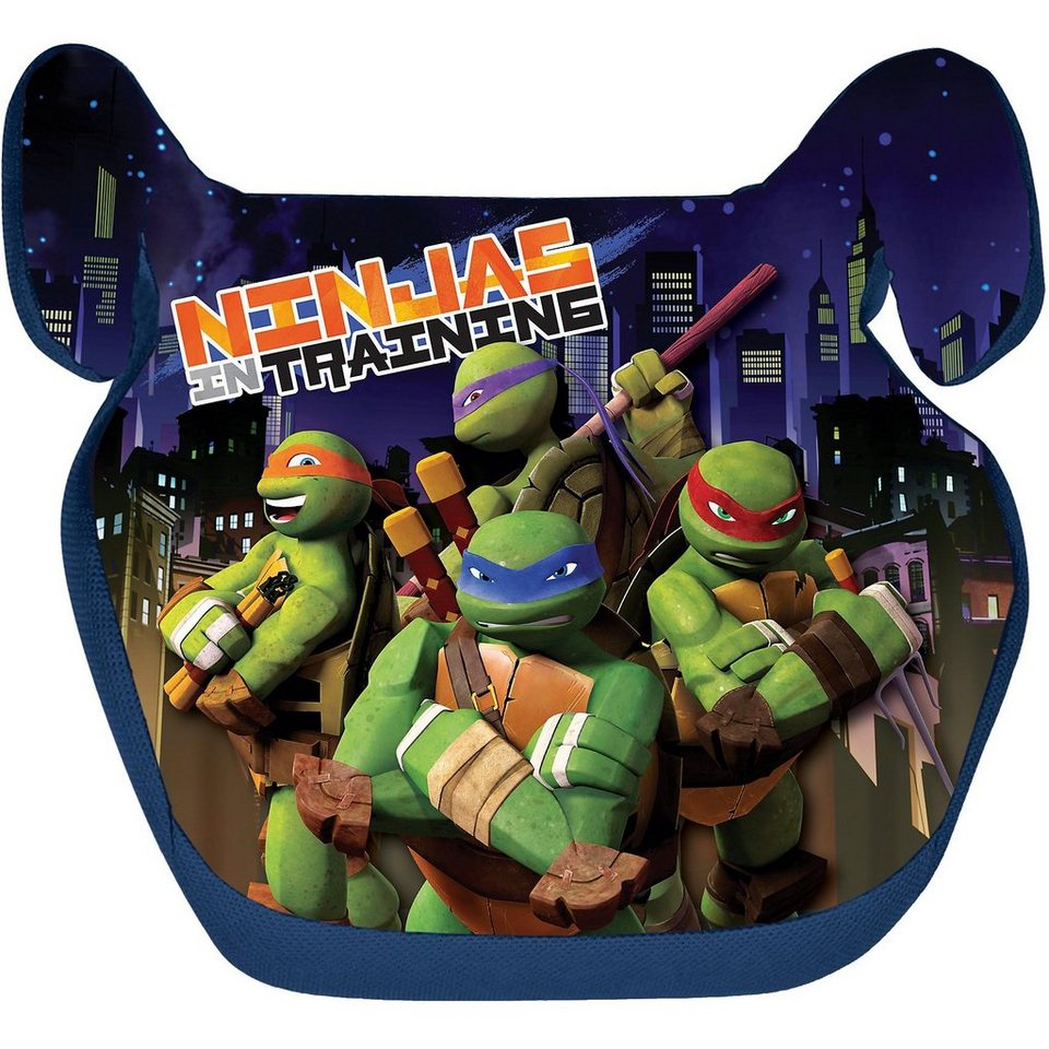 ProType Sitzerhöhung, Ninja Turtles, 2016 in schwarz