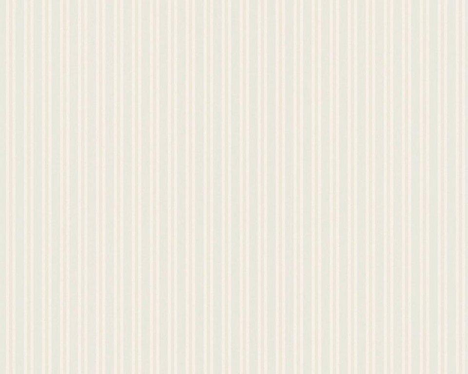 Vliestapete, Architects Paper, »Streifentapete AP 2000 Stripe Design by F.A. Porsche« in creme, grau, beige