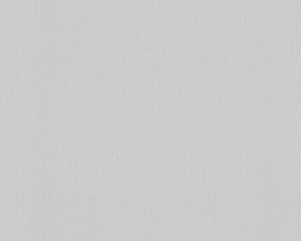 Vliestapete, Schöner Wohnen, »Unitapete Schöner Wohnen 8« in grau