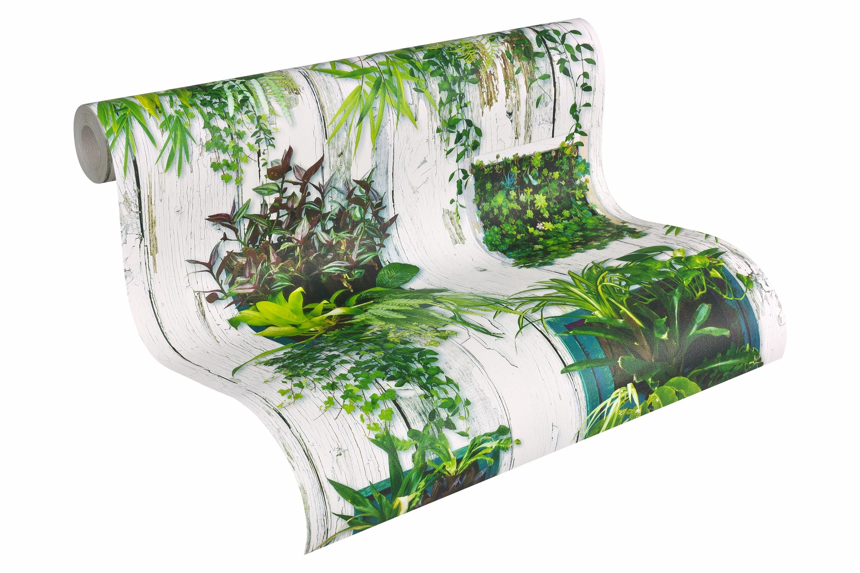 Papiertapete, livingwalls, »Mustertapete Authentic Walls«, Pflanzen Motiv