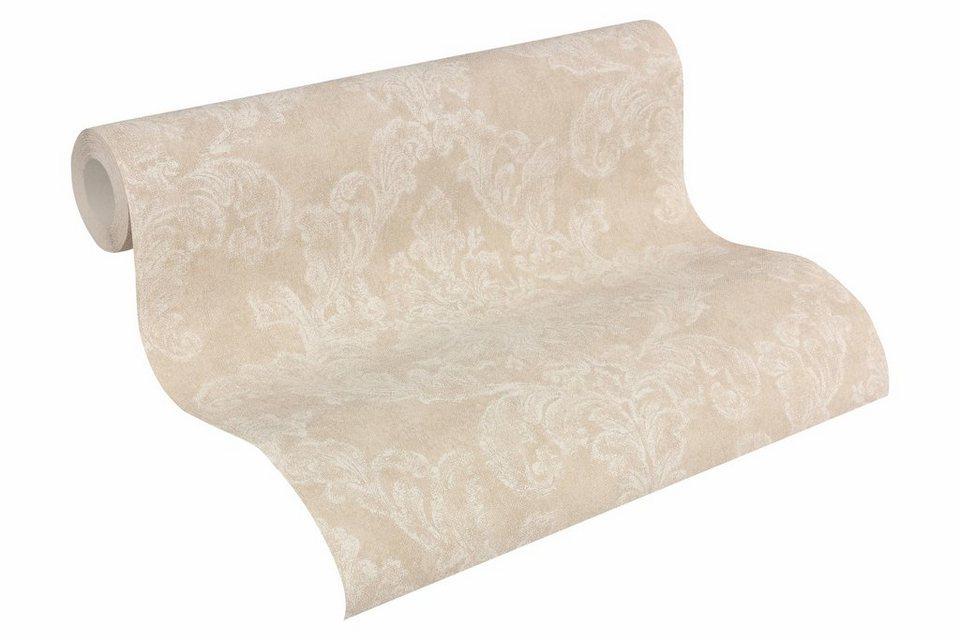 Vliestapete, livingwalls, »Mustertapete Elegance 3« in beige, creme